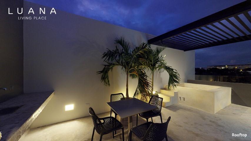 Roof garden o terraza